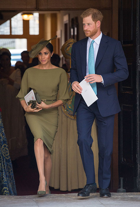 meghanmarkle louis christening a