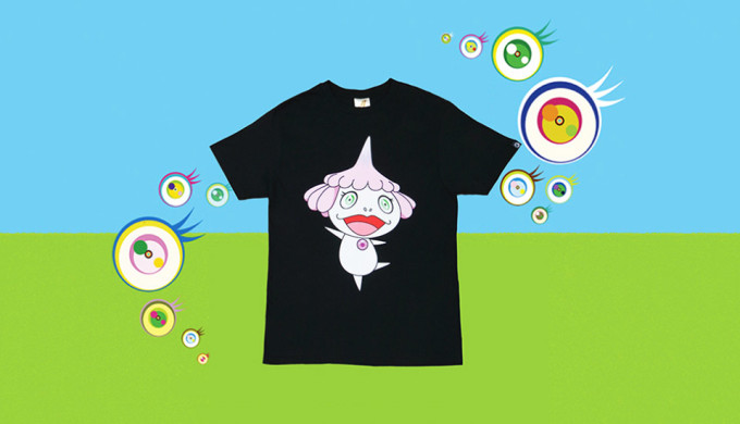 Billionaire Boys Club x Takashi Murakami JELLYFISH EYES T Shirt