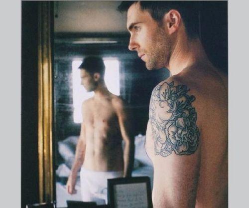 adam levine shoulder tattoo