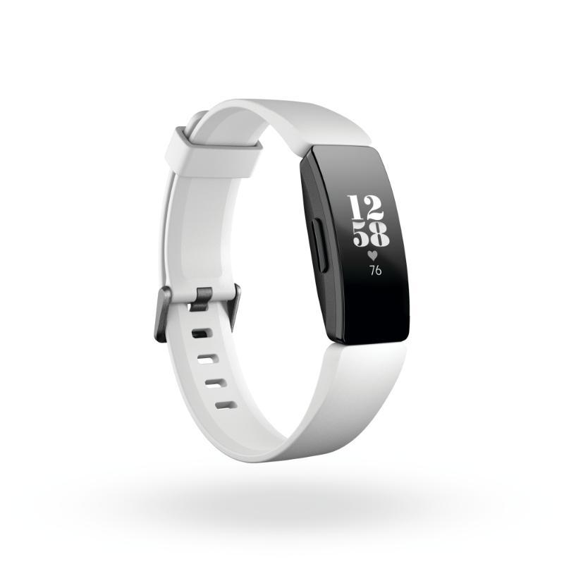 Fitbit Inspire HR 3QTR Core White