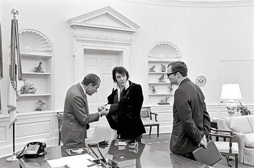 Indelible Elvis Nixon meeting 3