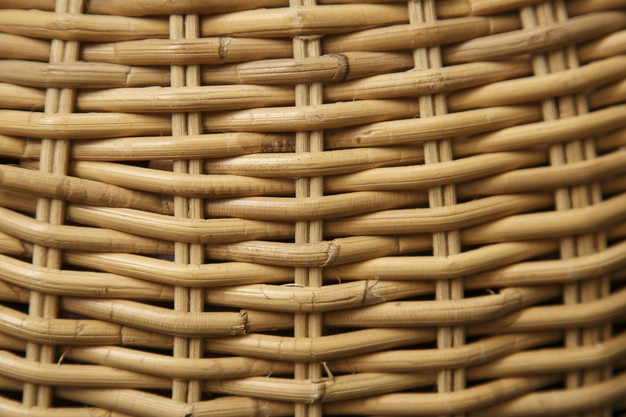 closeup thatched basket sunlight cool backgrounds 181624 21570